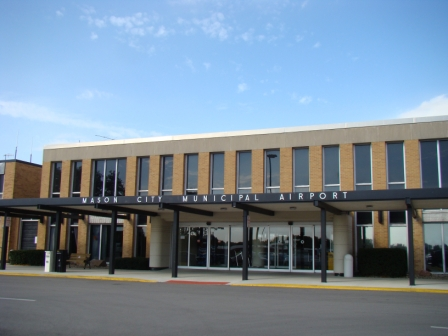 Mason City Municipal Airport, where Buddy Holly's feet left the ground for the last time