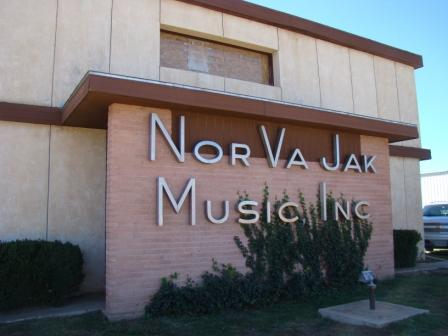 Norman Petty's NorVaJak recording studio in Clovis, New Mexico