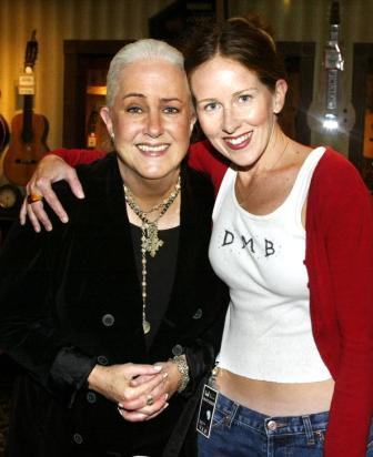Grace Slick and her daughter China Kanter - whose father is Paul Kanter, Grace's bandmate in Jefferson Airplane/Starship