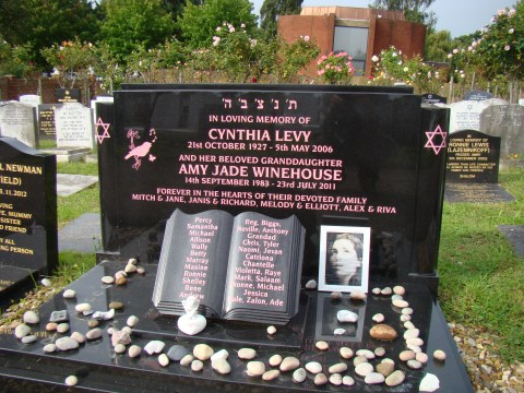 Amy Winehouse—Edgwarebury Cemetery, Edgware