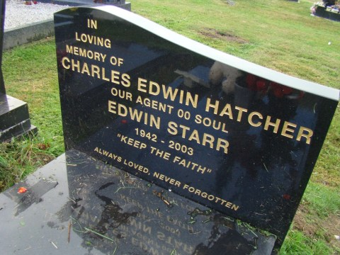 Motown singer Edwin Starr—Wilford Hall (Southern) Cemetery, Nottingham