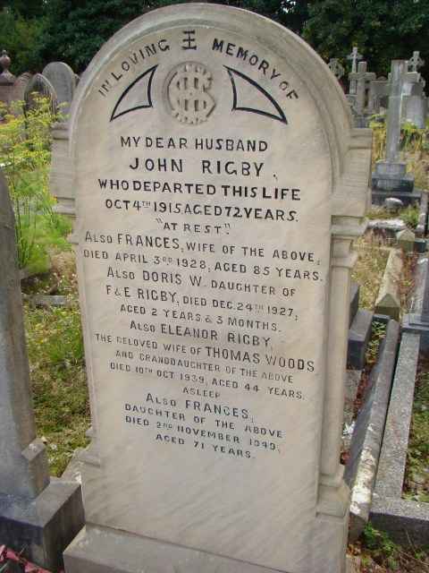 Eleanor Rigby—St. Peter's Church, Woolton, Liverpool