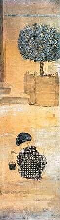 """""""l'enfant-au-pate-de-sable"""" von Pierre Bonnard (1867-1947)"""