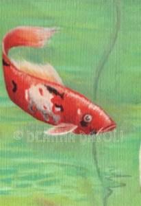 Koi Mermaid - Fish Detail