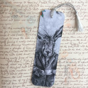 March Hare - Bookmark