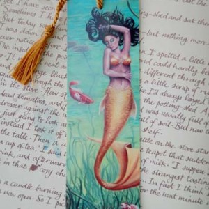 Koi Mermaid - Bookmark