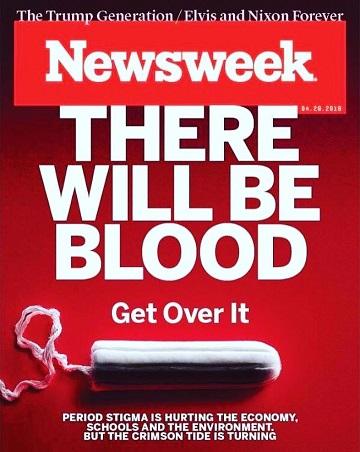 Newsweek cover, 350x450