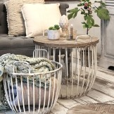 Lobster pot coffee tables