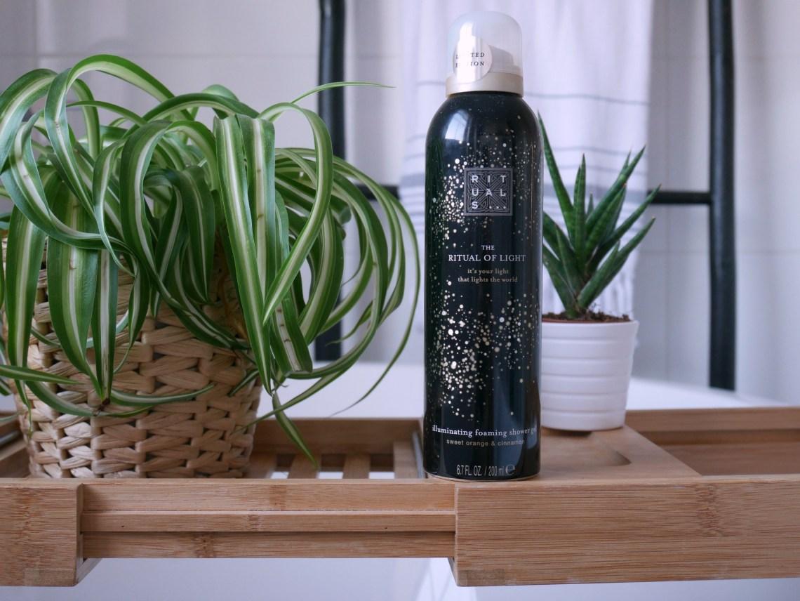 Ritual of light shower gel
