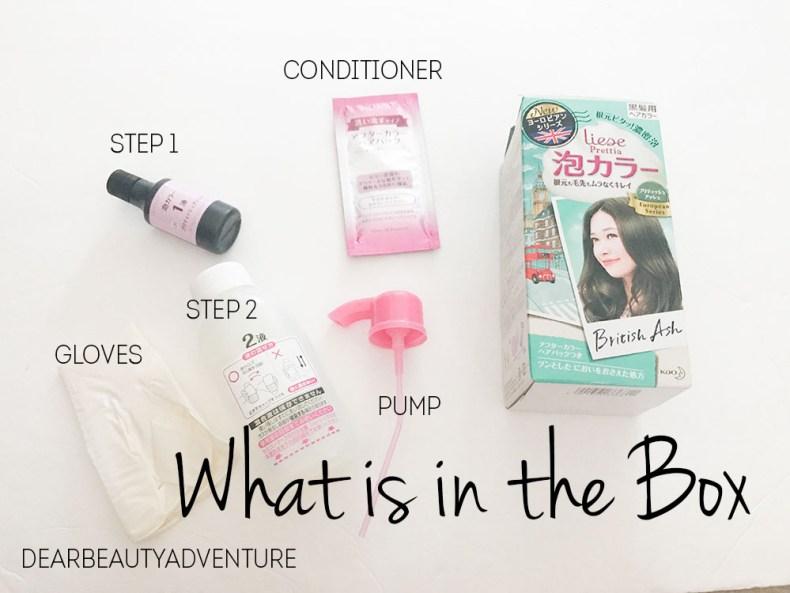 Review Liese Prettia Creamy Bubble Color Hair Dye In