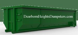 Dumpster Rental Dearborn Heights