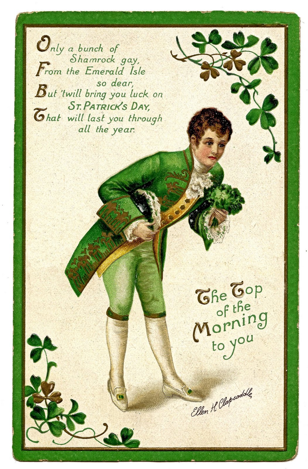 St Patrick S Day Free Printable Card