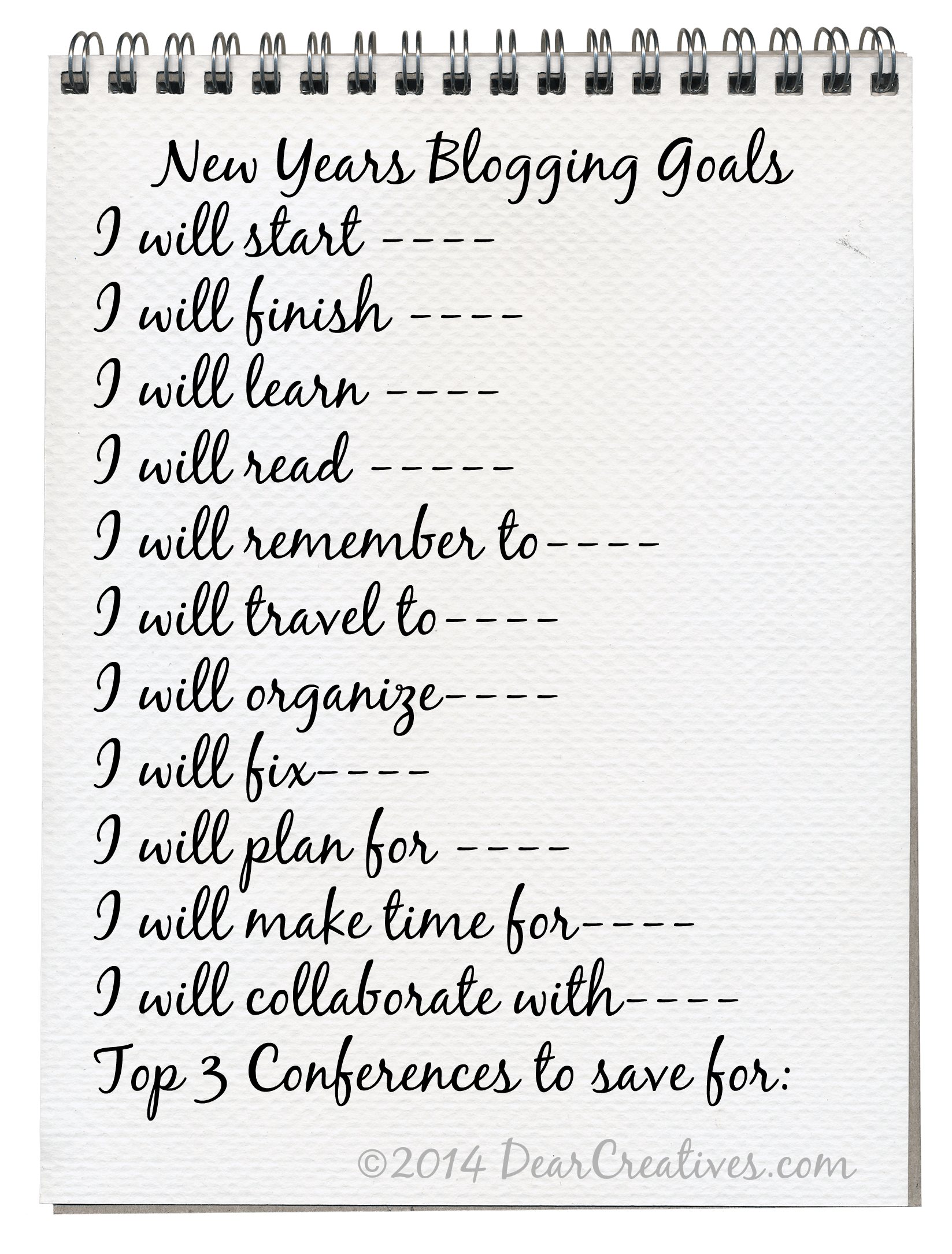 Make Successful Personal And Blog Goal Setting Free Printables For Both