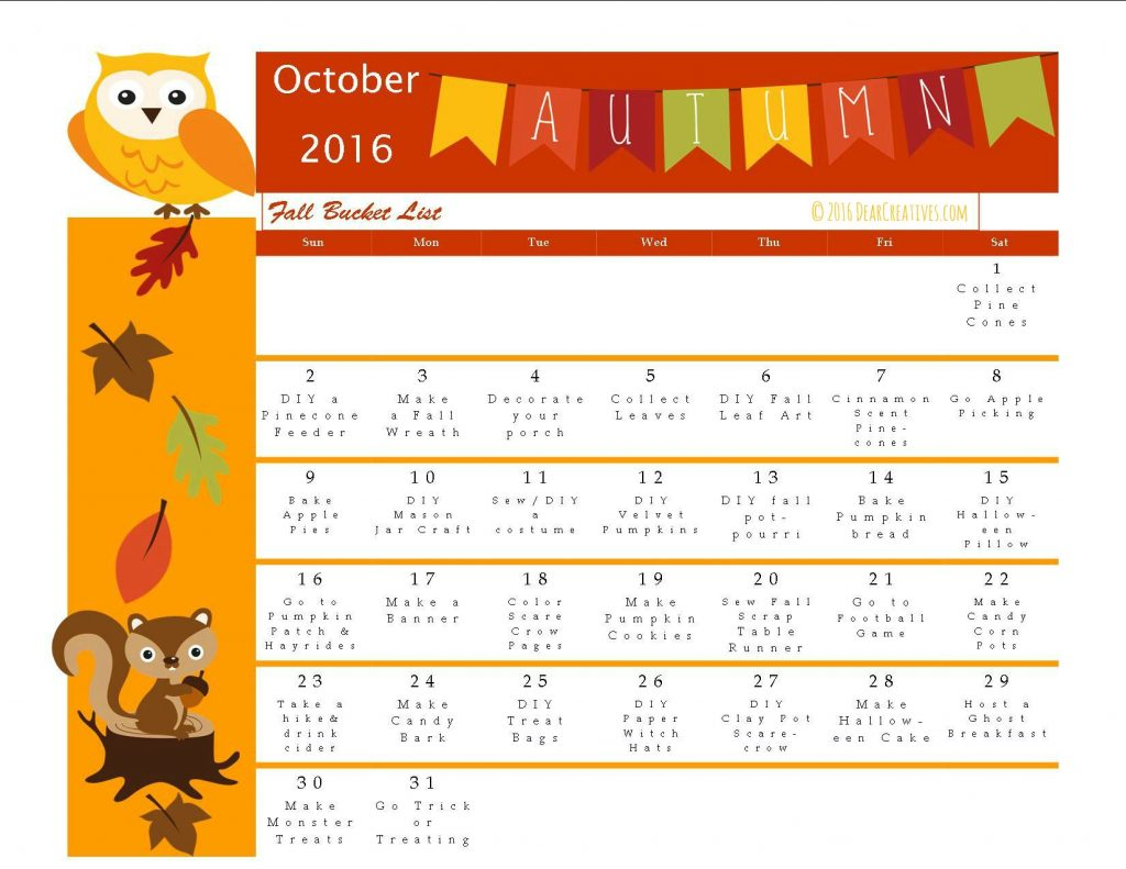 Fun Fall Activities Bucket List Of Fall Craft Ideas And