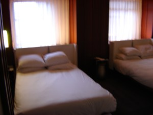 Hudson Hotel bedroom