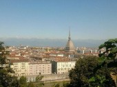 Turin from the hills