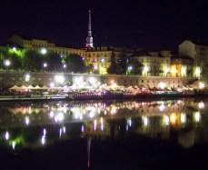 Po riverside - night view