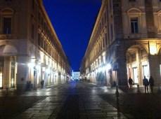 Via Roma - colonnades