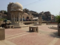 Chowk Yadgar in the old city