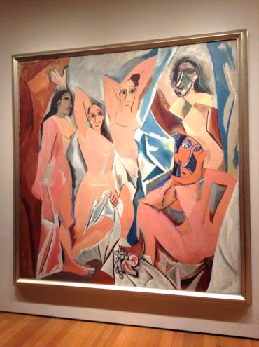 Picasso - Les Demoiselles d'Avignon, 1907 (MoMA)