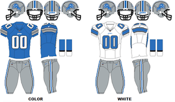 Kansas City Chiefs Colors Uniforms