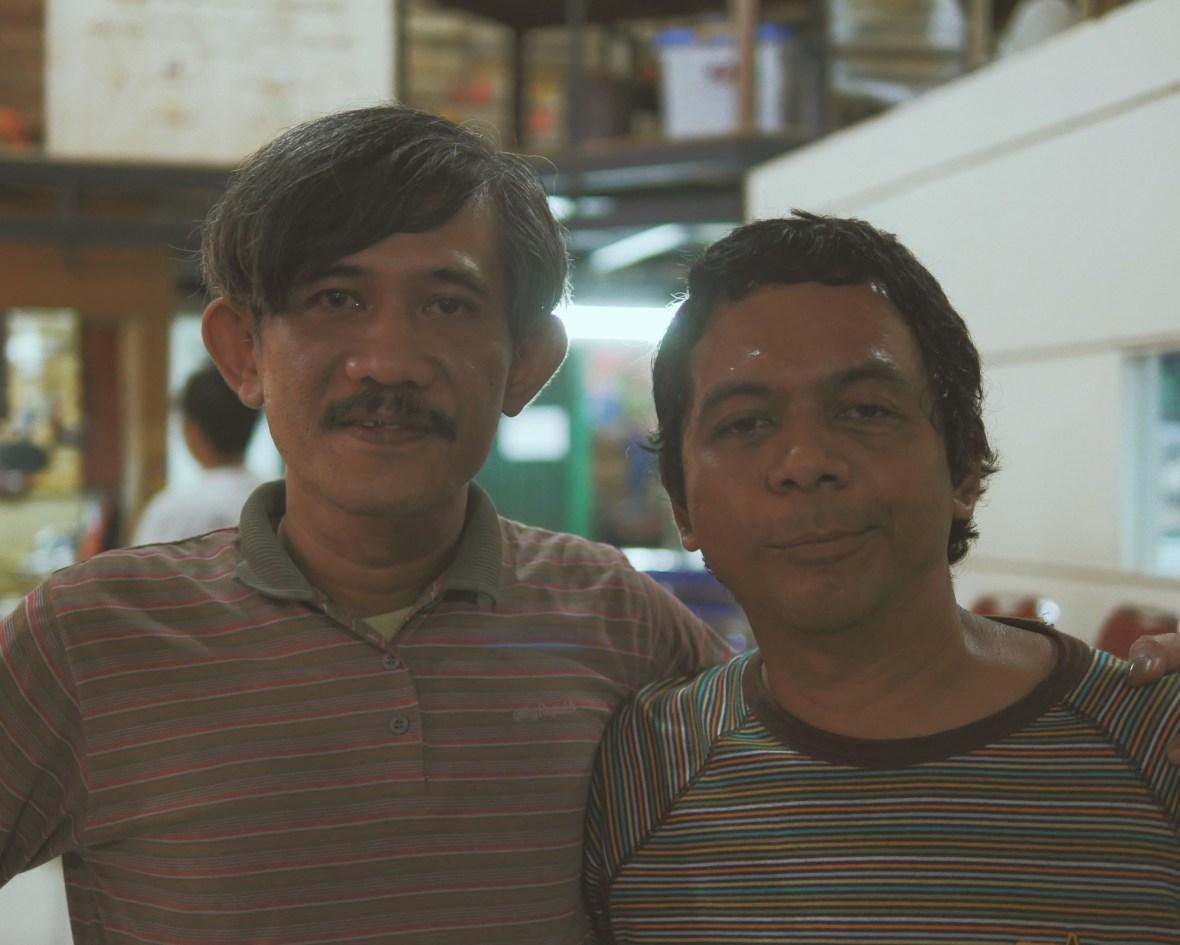 Indra Ameng dan Adrian Yunan