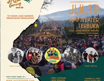 Jazz Gunung Bromo 2018