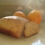 Zonnig sinaasappelbrood