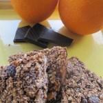 Sinaasappel Chocolade Walnoot Mueslirepen