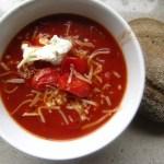 Makkelijke Italiaanse Tomatensoep