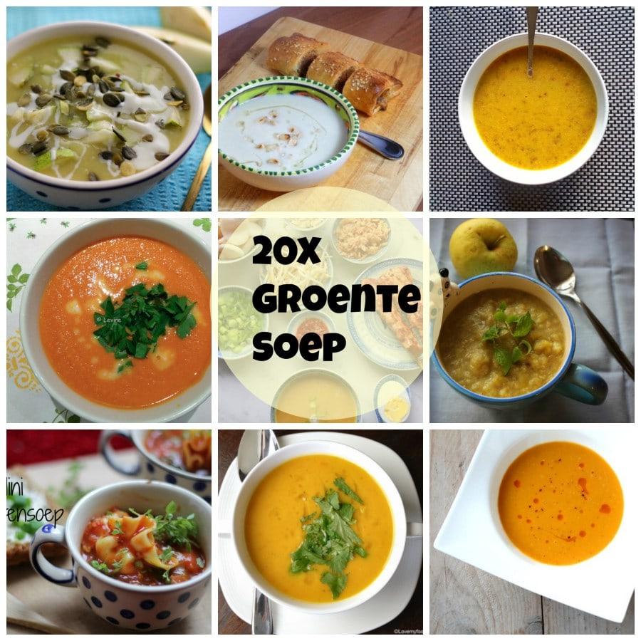 20+ Groentensoep Recepten