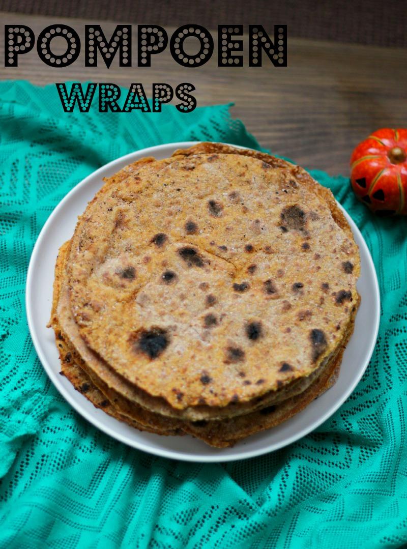 Pompoen Wraps