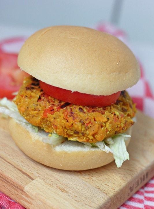 Glutenvrije Zoete Aardappel Kikkererwtburgers