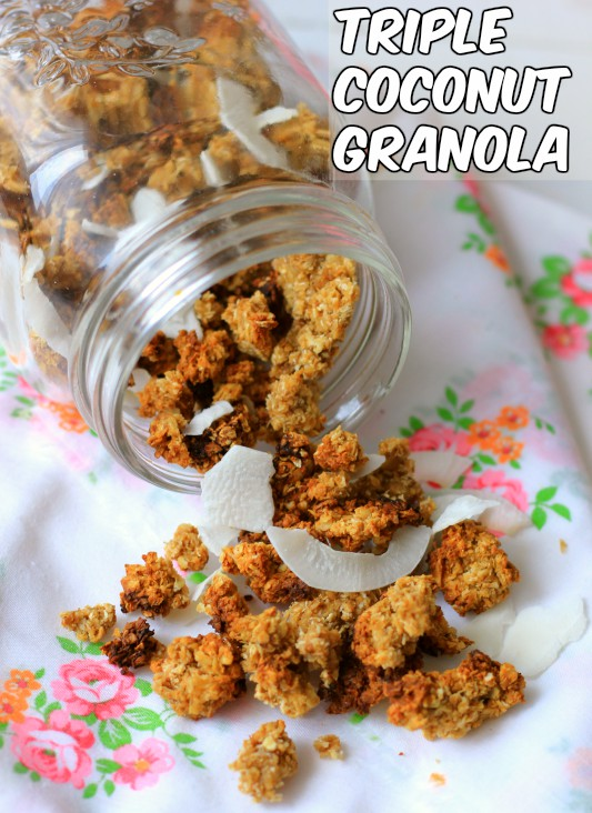 coconut granola