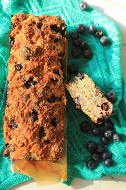 Banaan Blauwe Bessen Chocolade Brood