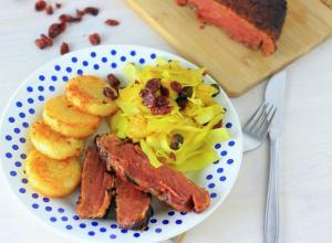 Vegetarisch Kerst Hoofdgerecht: Vegetarische Ham