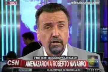 El PRO quiso censurar a Navarro