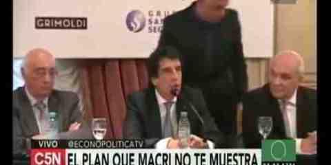 Macri y los economistas del tren fantasma
