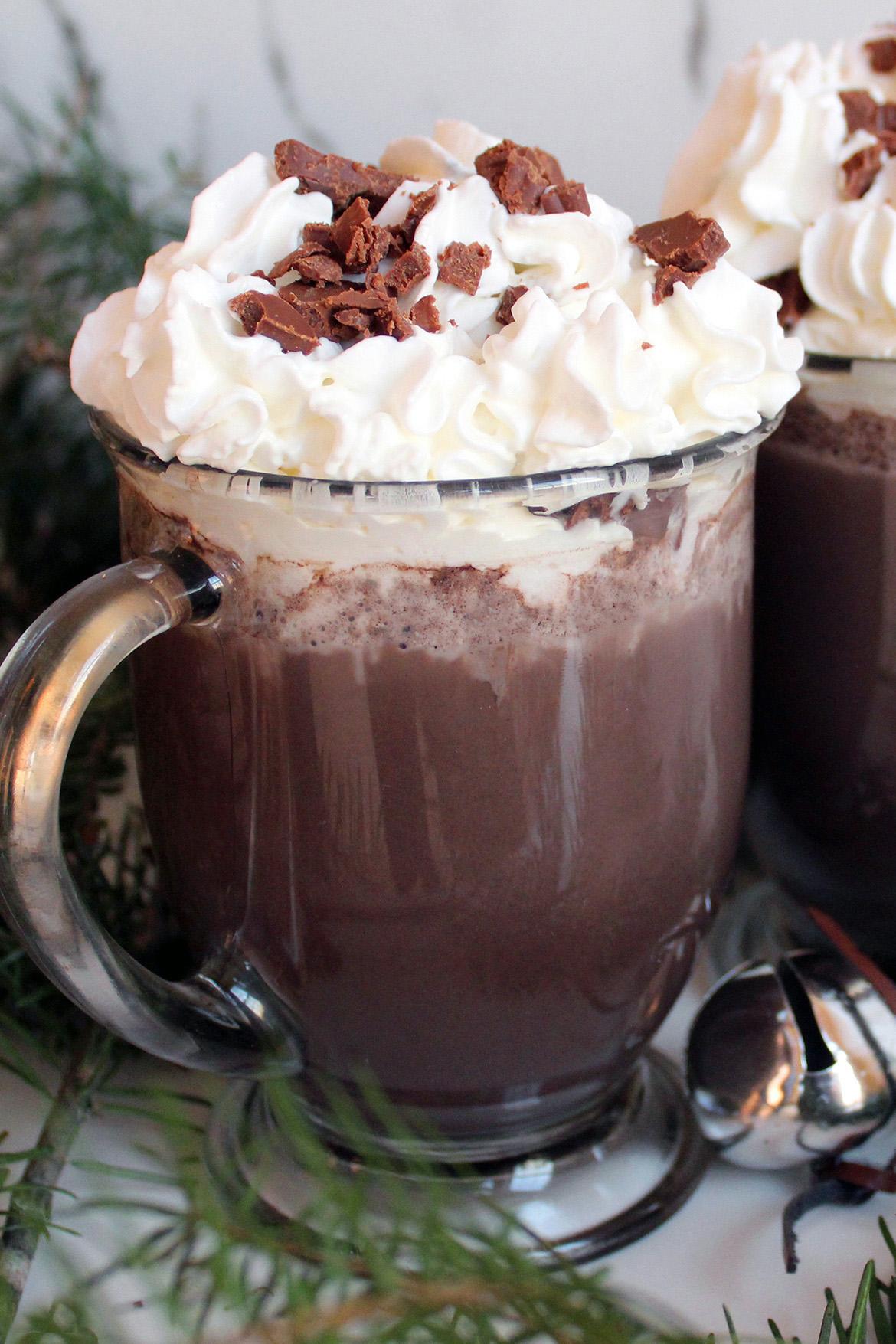 Healthy and Simple Vegan Hot Chocolate Recipe