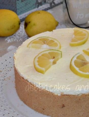 cheesecake mascarpone e limone