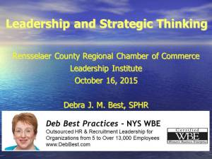 RCCC Leadership & Strategic Planning Presentation rev. Oct. 2015 final