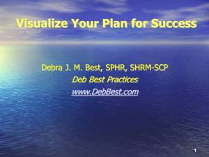 Visualize Your Plan for Success -The Women's Fund of the Capital Region- March 2013