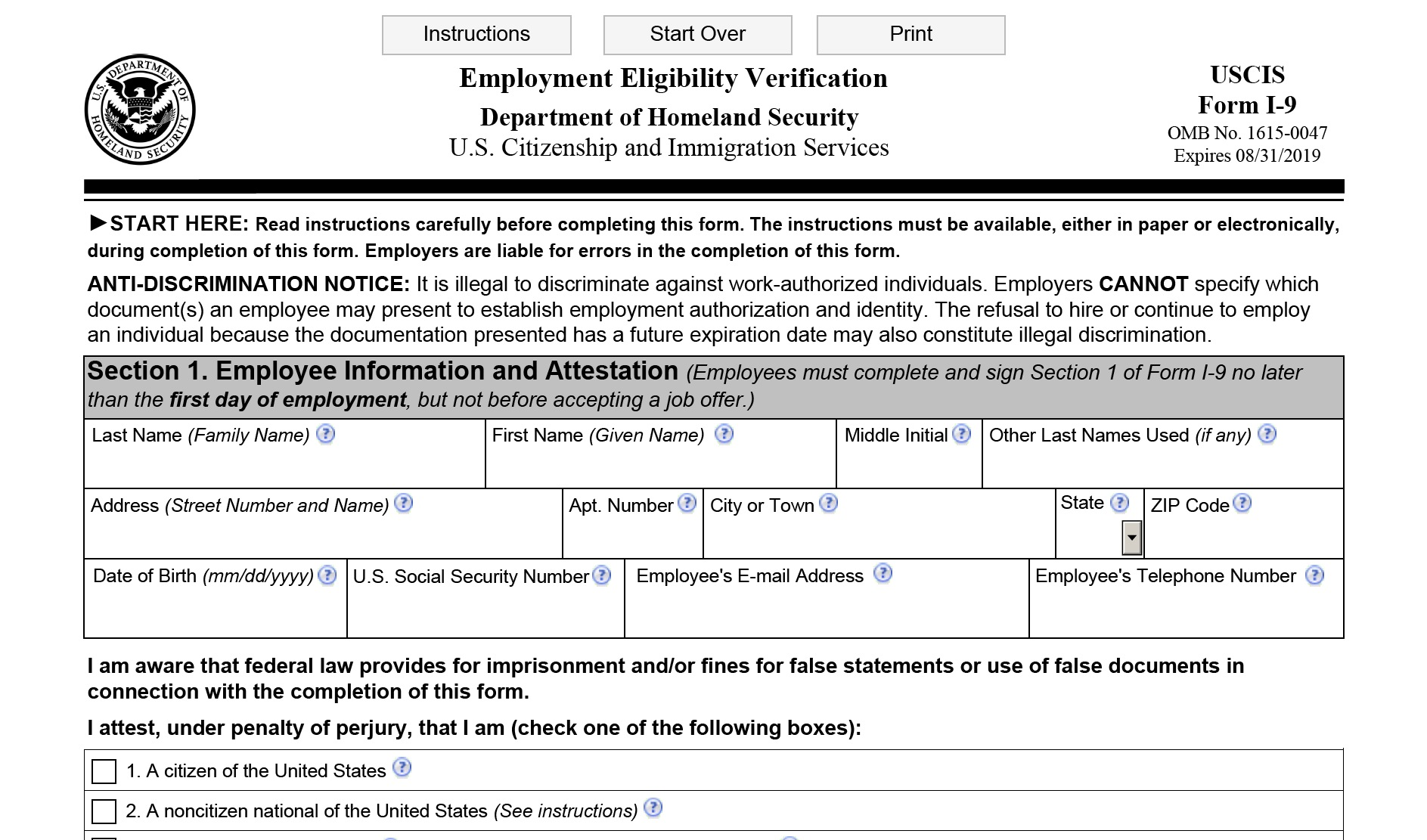 Important Compliance Update: Employers Must Use the New I-9 Form ...
