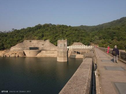 城門水塘的主壩