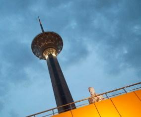 黃昏的Milad Tower