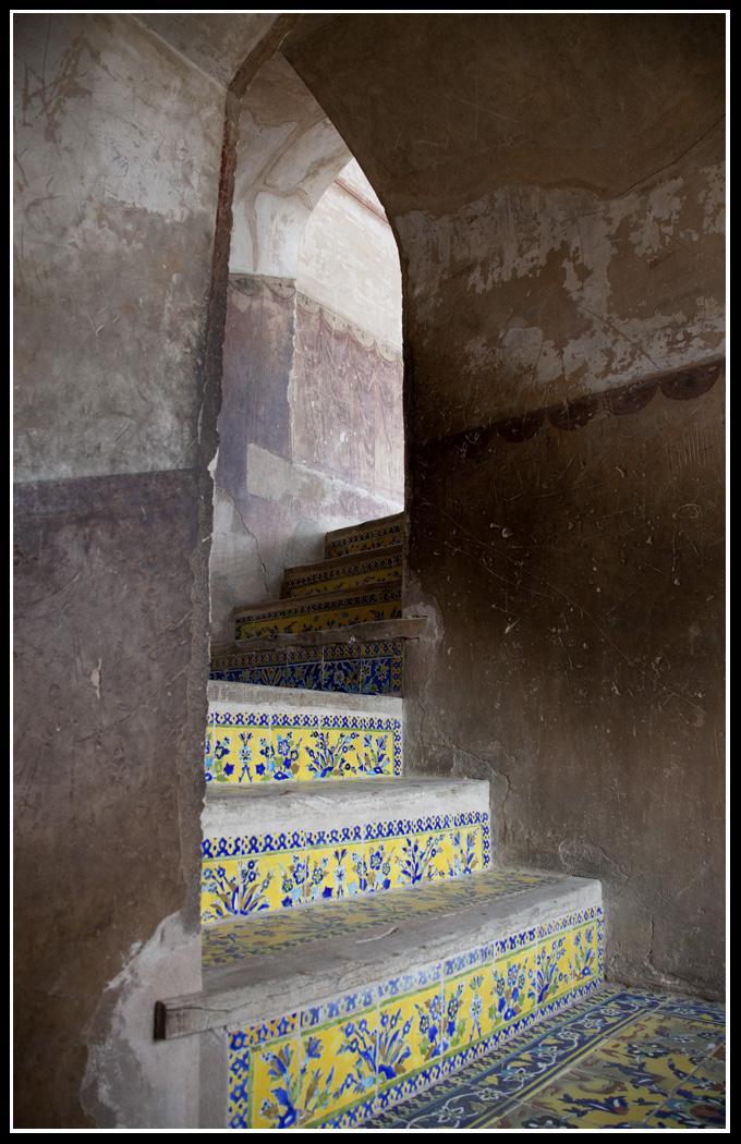 Ali Qapu Palace內的樓梯