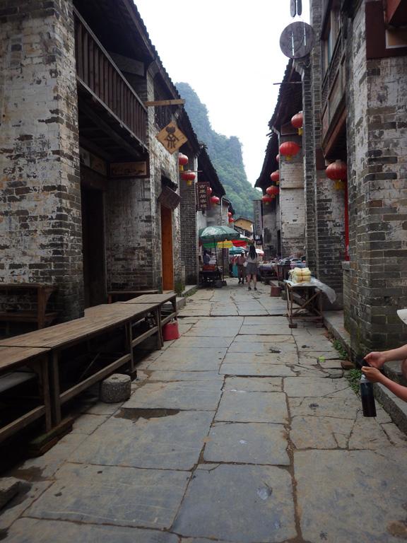 古鎮的小巷