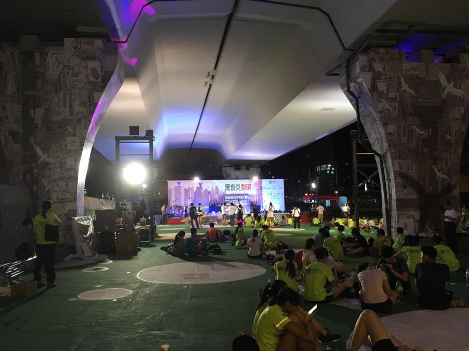 黑夜見黎明城市定向比賽 9.9.2017