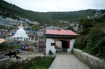 Climb, climb and climb to Namche Bazaar