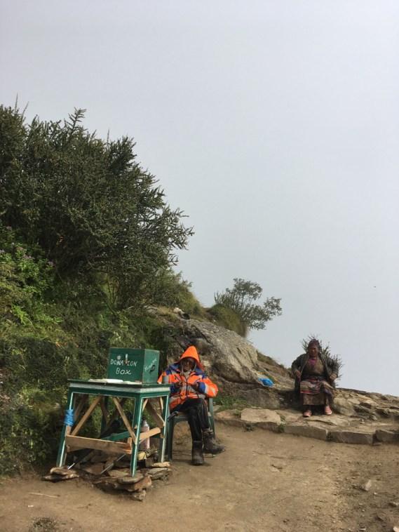 Pasang Lama Sherpa seeking donation for trail repair